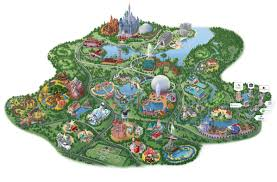 Orlando Parks Map by Disney Springs Area Map Disney Springs Resort Area Hotels