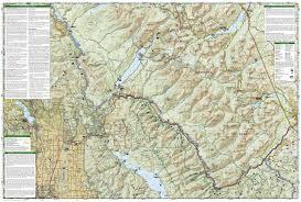 National Geographic Topo Maps Wandelkaart Topografische Kaart 215 Trails Illustrated Glacier