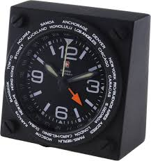 swiss military analog black clock price in india buy swiss