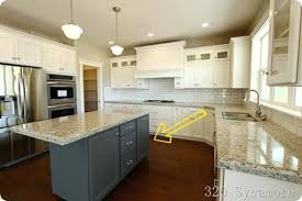 kitchen island colors different color kitchen cabinets colored faced thedailygraff