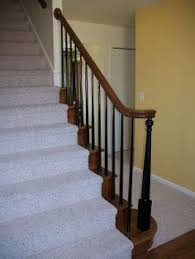 Best Paint For Stair Banisters New Trend To The White Spindles On Your Staircase Paint Them Black