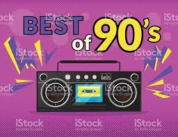90 S Decor Best Of 90s Stock Vector Art 490110508 Istock