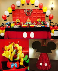mickey mouse birthday some awesome birthday party ideas the mickey mouse theme
