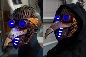 plague doctor mask the eternal plague steunk plague doctor mask by twohornsunited