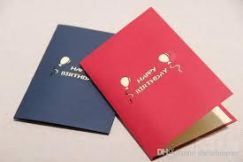 new happy birthday card handmade creative 3d pop up greeting gift