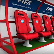 3d model stadium seating reserve bench cgtrader