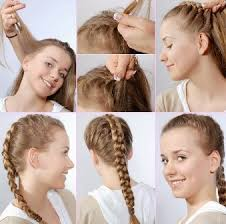 tutorial mengikat rambut kepang 5 model rambut kepang terbaru dan terpopuler infosicantik