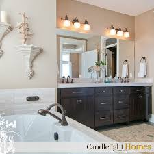 Craftsman Style Bathroom Lighting Www Candlelighthomes Utah Homebuilder Master Bath Master