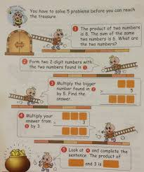 a grade 3 item on mental multiplication singapore math grade