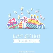 card invitation design ideas happy birthday card free vector