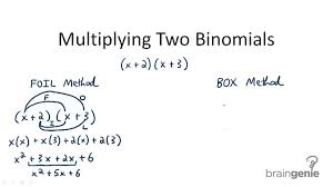 multiply binomials by binomials video algebra ck 12 foundation