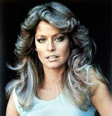 feather hair cuts from the 70 s farrah fawcett feather with flair