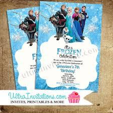 frozen birthday invitations frozen printable digital or prints