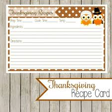 108 best recipe cards images on printable recipe cards
