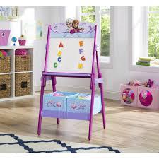 Art Desk Kids by Disney Frozen Art Desk Bookshelf Easel Playroom Set Walmart Com