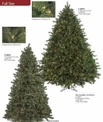 artificial tree pre lit slim pine