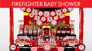 Youtube Baby Shower Ideas by Firefighter Baby Shower Party Ideas Firefighter S39 Youtube