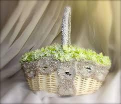 Basket For Wedding Programs 53 Best Baskets Images On Pinterest Flower Basket Marriage