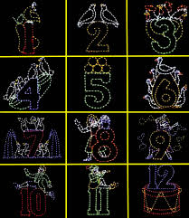 outdoor christmas decorations within animated christmas light