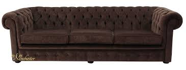 Chesterfield Sofa Fabric Chesterfield 4 Seater Settee Pimlico Chocolate Brown Fabric Sofa Offer
