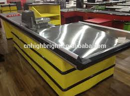 Supermarket Cash Desk Shops Counter Design Checkout Counter Ideas Supermarket Checkout