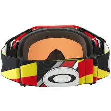 oakley new mx airbrake high oakley airbrake mx heritage racer red goggle sixstar racing