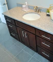 Kraftmaid Bathroom Vanity Cabinets by Knotty Alder Bathroom Vanity Cabinet Mocha Shaker Bathroom Vanity