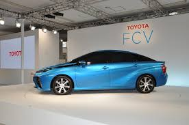 hydrogen fuel cell car toyota 2015 toyota fcv unveiled priced from 68 688 in japan the truth