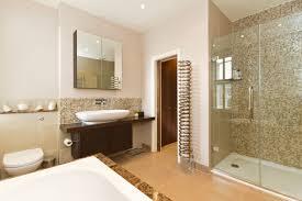 bathroom mediterranean bathroom design with round window and