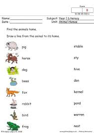 animal homes worksheets 28 templates animals and their homes