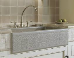 Kohler Apron Front Kitchen Sink Kohler Farmhouse Kitchen Sink Kitchen Counter Decorating Ideas
