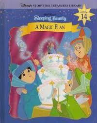 sleeping beauty magic plan disneys storytime treasures library