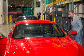 ford mustang assembly plant tour the president speaks about america s auto industry the