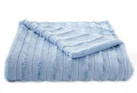 light blue luxe blanket twinkle twinkle one