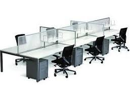 Office Desk System Cubit 1800 6 Person Office Furniture Desk System