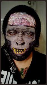 monkey costume halloween monkey halloween makeup