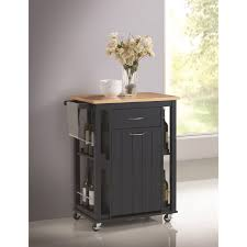 coaster kitchen carts kitchen island with casters value city