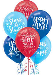 welcome home balloon bouquet patriotic welcome home balloon bouquet 5pc party city