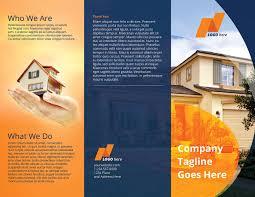 Real Estate Flyers Templates by Real Estate Tri Fold Brochure Template Design Bundles