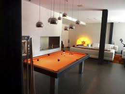 Dining Room Pool Table Dining Pool Tables With Marvelous Modern Orange Dining Pool Table