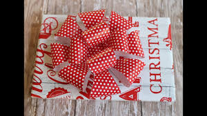 bow wrapping paper diy make a loop bow with wrapping paper