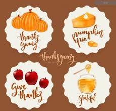 free thanksgiving vector graphics after effects templates