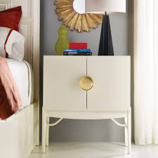 how luxurious designs of carving gold nightstand in the bedroom