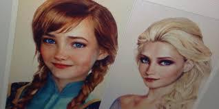 u0027frozen u0027 princesses anna elsa