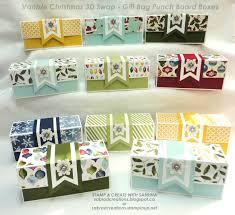 stamp u0026 create with sabrina vanisle swap christmas gift boxes