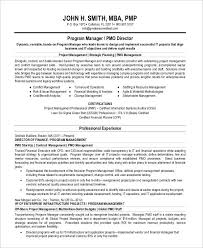 Mba Resume Examples by Project Management Resume Samples Director Project Management