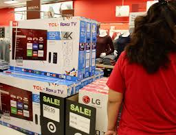 black friday tv deals target blackfriday shopping experience with target talking with tami