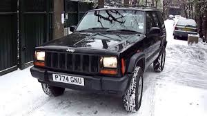 modified jeep cherokee jeep cherokee 2 5 td sport youtube