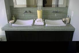 backsplash glass tile ideas modern kitchen 2017