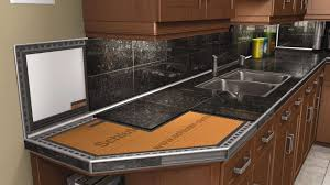 Countertop Kitchen Sink Countertops Schluter Inspirations And Best Tile For